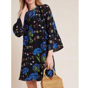 NWT ANTHROPOLOGIE Lucinda Silk Tunic Dress XS